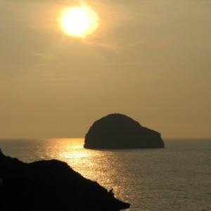 Sunset Cornwall -September 2014 / Photo  by Lia Prado